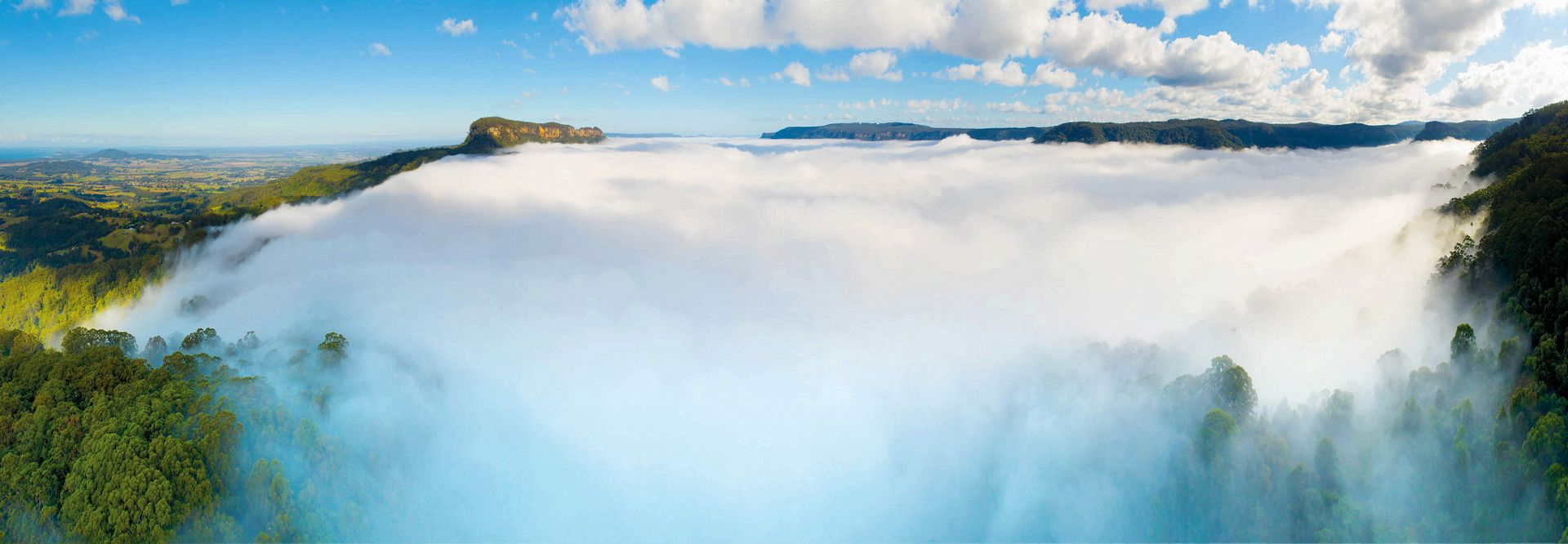 Fog Over Woodhill Gap