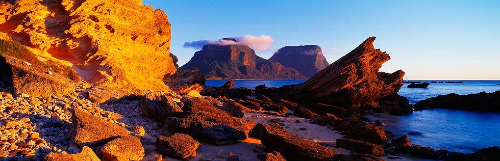 Lagoon Rocks Sunset