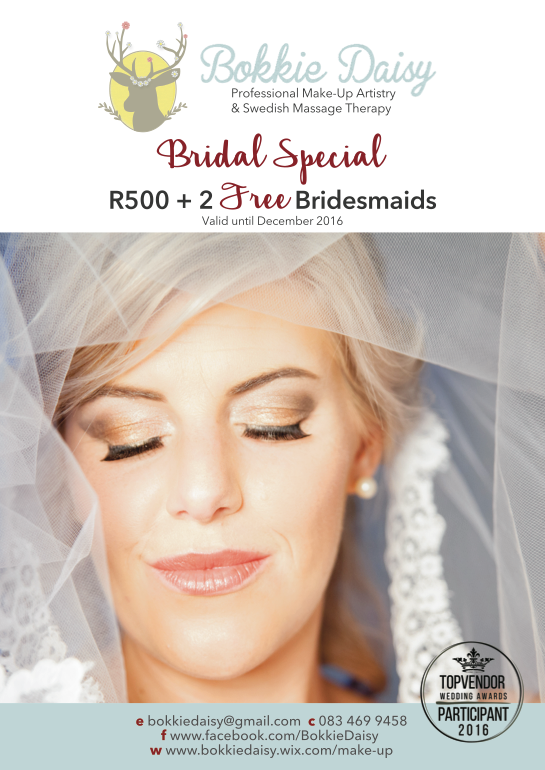 Brand New Bridal Special!