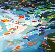 Sol Zaretsy, Passaic River, Acrylic, 2012, 34 x36,.jpg