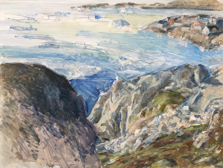 14 Marcia Clark. Near the Icefiord. 2020 oil on panel 9x12inches.jpg .jpeg