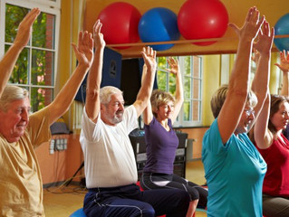 HEALTHY, HAPPY SENIORS STAY FIT!