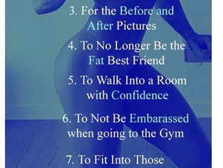 10 Reasons for Weight Loss