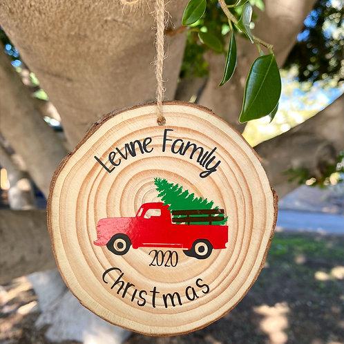 Family Custom Name Ornament
