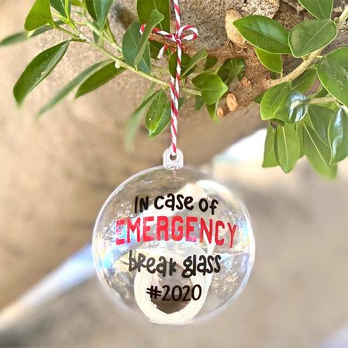 Emergency 2020 Ornament