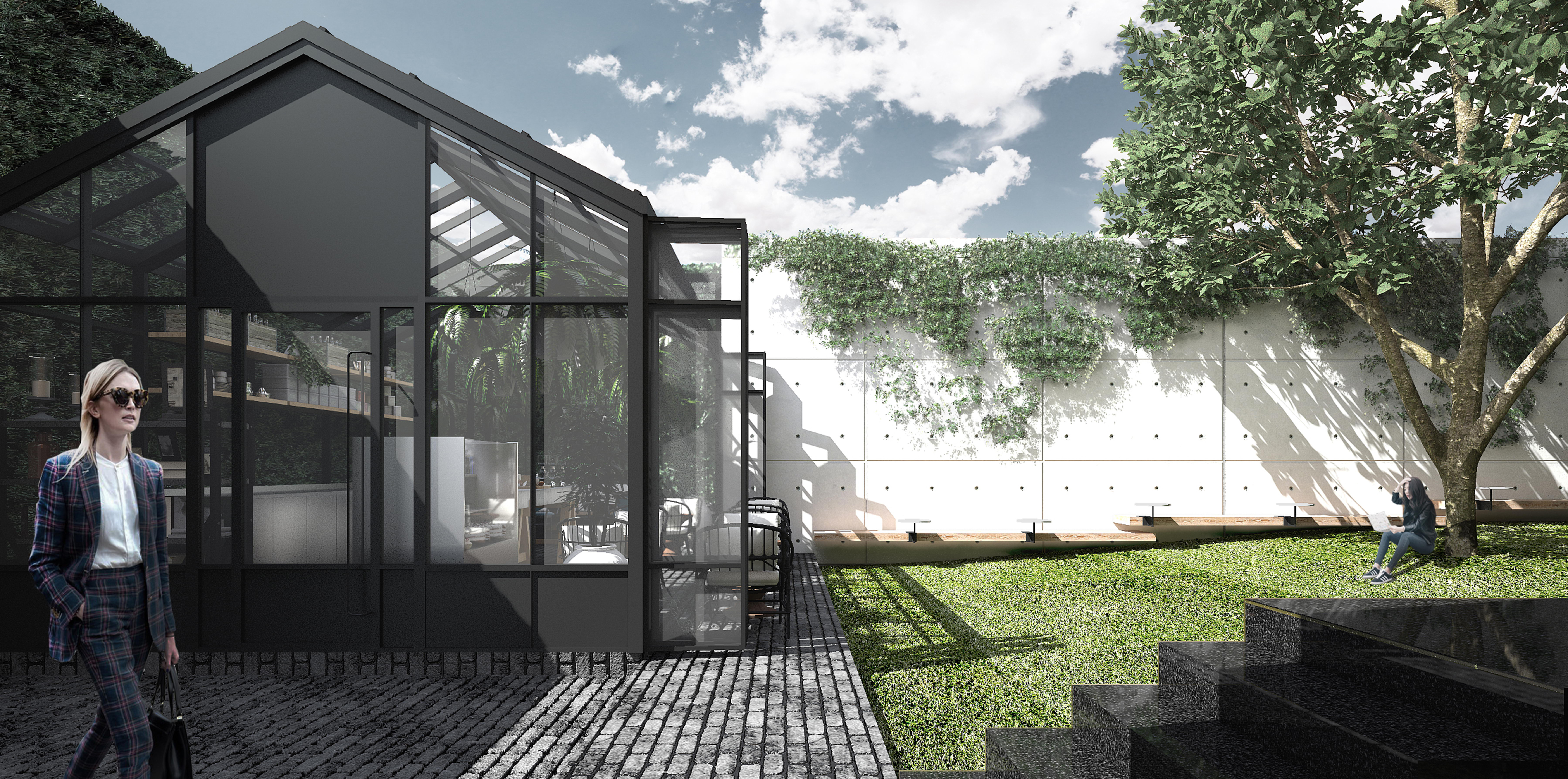 03 Glass House