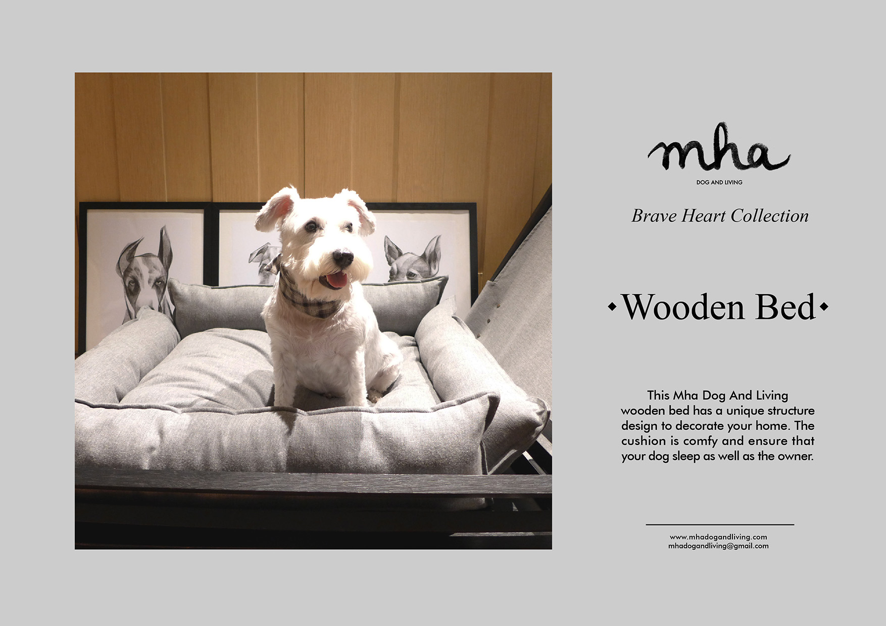04 - wooden bed 01