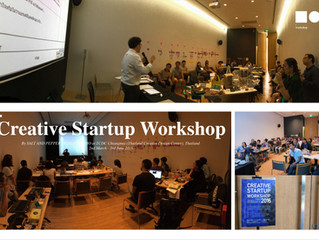 Creative Startup Workshop at TCDC Chiangmai by SALT AND PEPPER DESIGN STUDIO