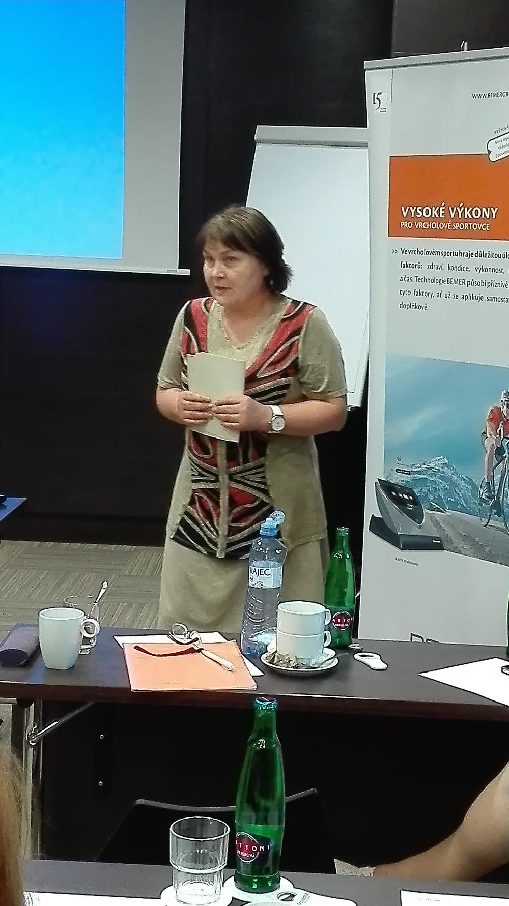MUDr. K. Ferjenčíková, praktický lékař a Bemer
