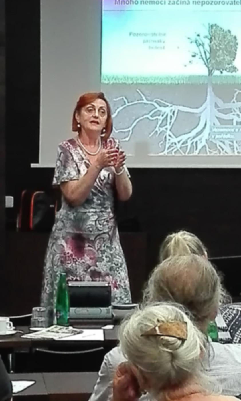 Ing. Zdeňka Cachová, 2. část přednášky