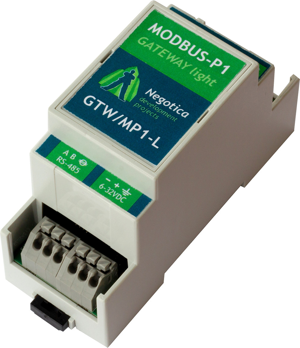 Modbus P1 Gateway Lite