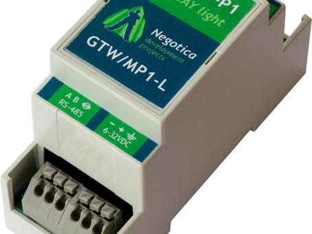 Nieuw! Modbus P1 Gateway Lite
