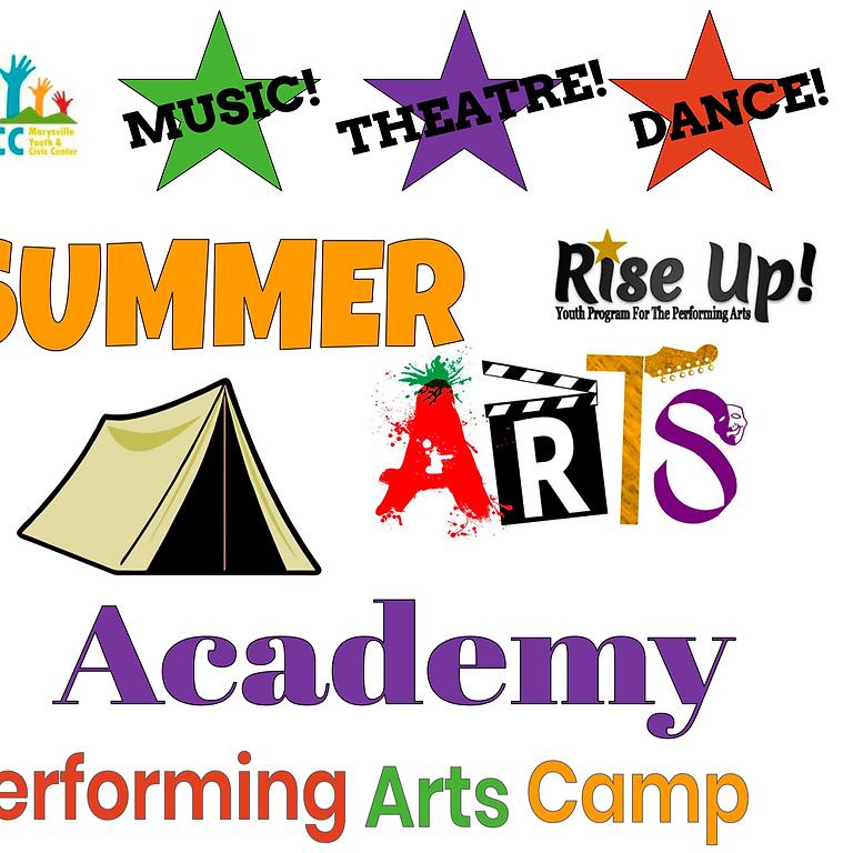 Summer Arts Academy Session 2