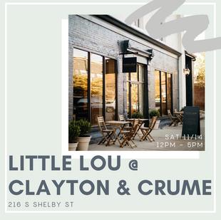 Clayton & Crume Pop-Up