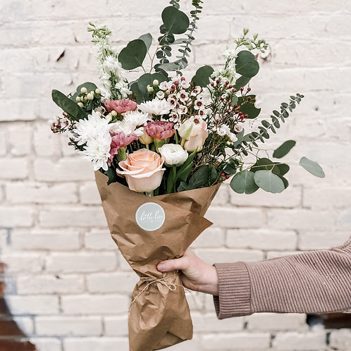 Deluxe Wrapped Bouquet