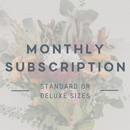 Bouquet Subscription - Monthly