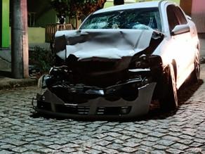Video mostra acidente na noite de sábado em Piratini.