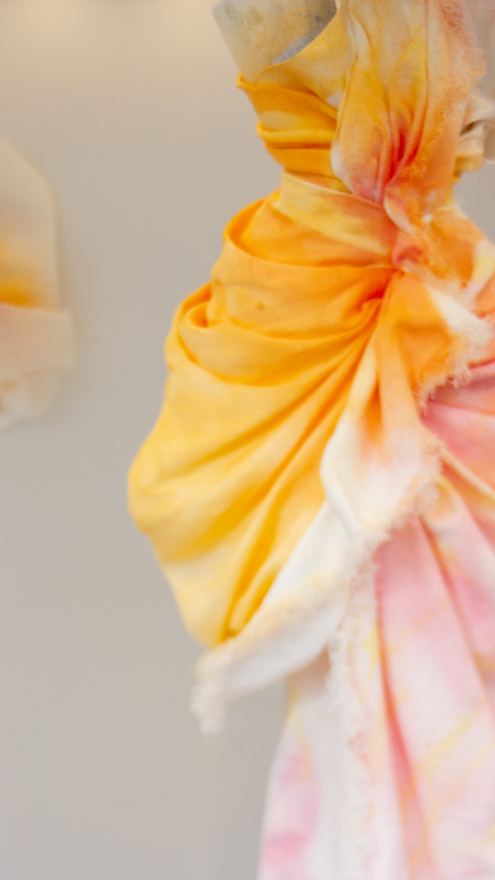 Using paper textile and Gouache colours.