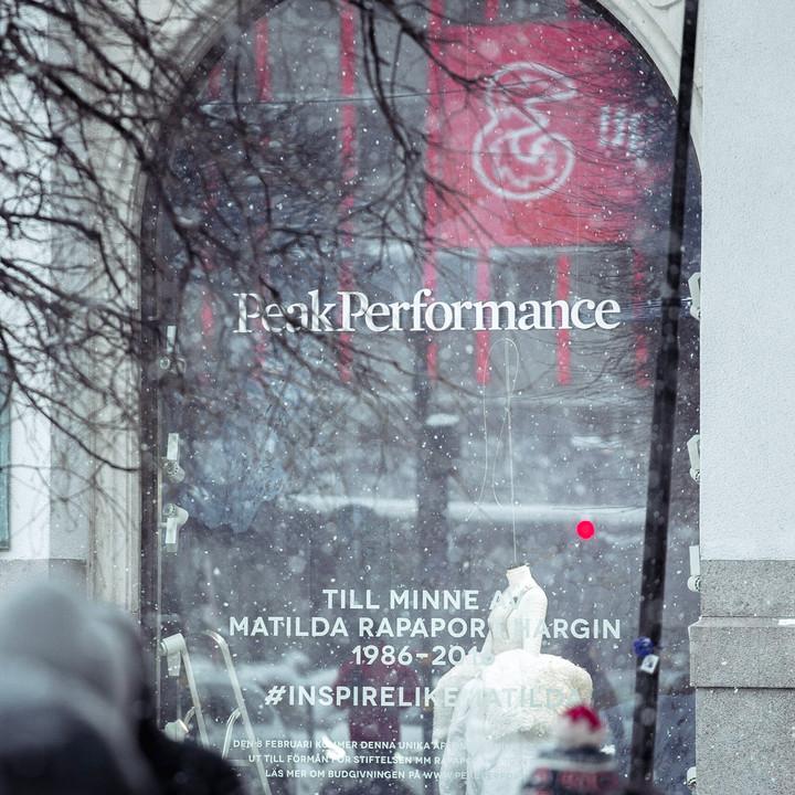 William Wahlström x Peak Performance Stockholm