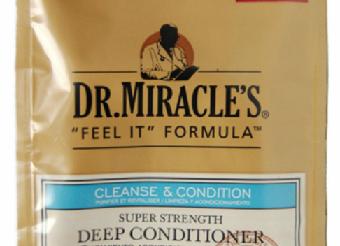 Dr Miracles Feel it Formula Deep Conditioning Treatment Cleanse & Condition Supe
