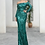 Thumbnail: Missord Zip Back Bardot Sequin Maxi Dress