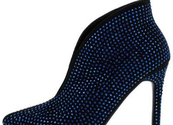 Pledge29s Black Blue Women's Boot