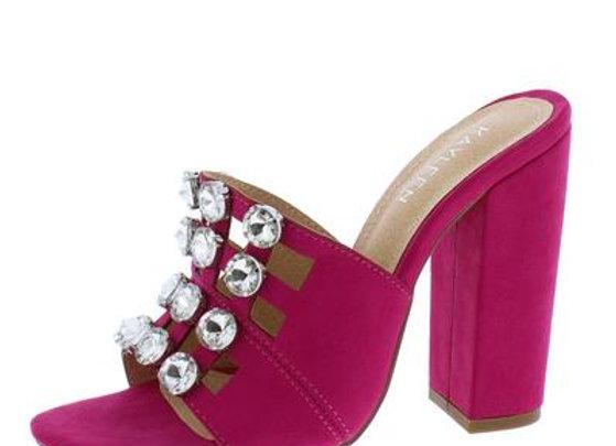 Selma2 Fuchsia Women's Heel