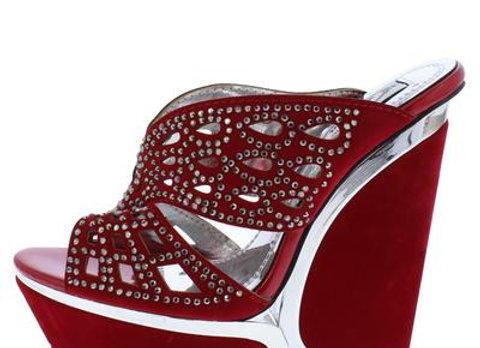 Alicia178 Red Women's Heel