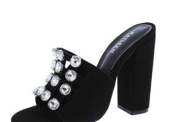 Selma2 Black Women's Heel