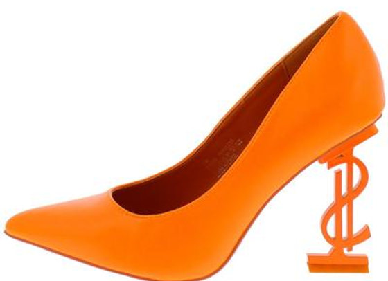 Priceless Orange Women's Heel