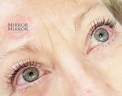 lash lift, lvl, lash lift portchester, fareham, beauty salon portchester, lashes, lash tint, mirror mirror beauty, home salon