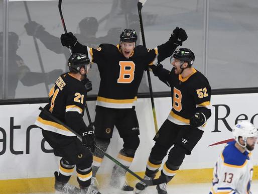 Bruins Beat Sabres 5-2