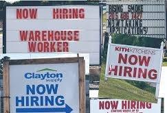 Unemployment Down?