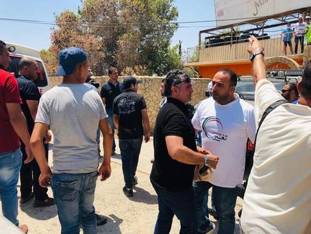 Solidarity with the people of Wadi Al Humus