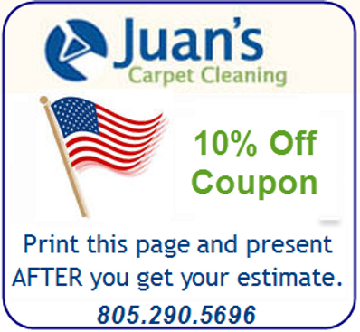 Carpet Cleaning Coupon Ventura County