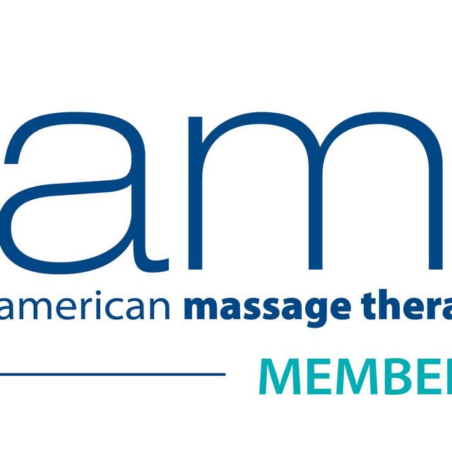 AMTA american massage therapy association MEMBER