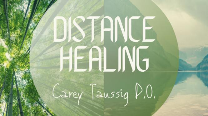 POSTPONED Distance Healing