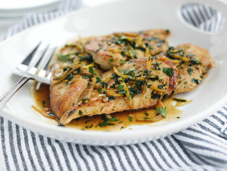 Chicken Breasts with Herbs: