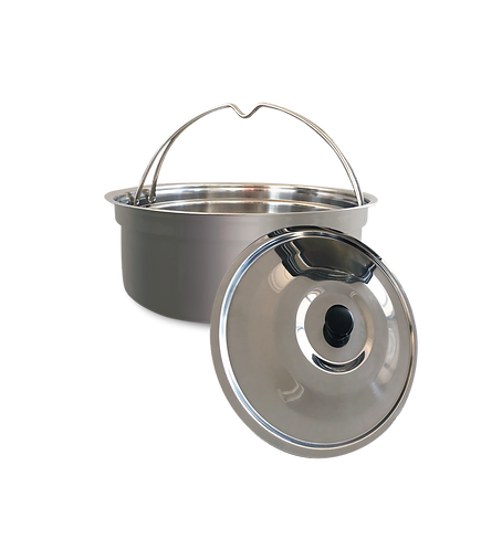 Quarter Acre Pot 2 litre stainless steel saucepan