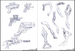 Double Page Pencil 01