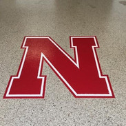 Nebraska Logo Final Garage Floor