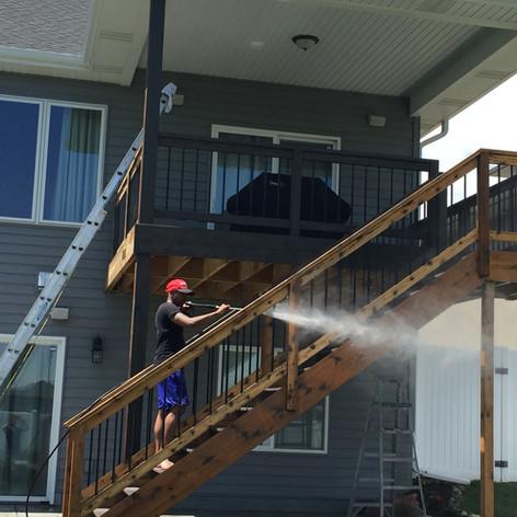 Deck Powerwash