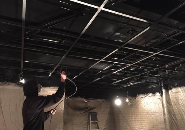 Open Ceiling Spray