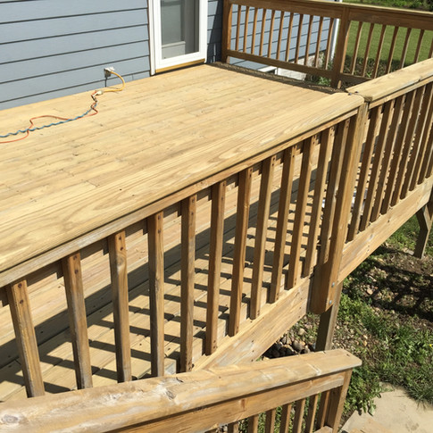 Bonnie Deck Before Stain