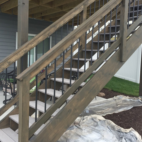 Smoked Stain Deck