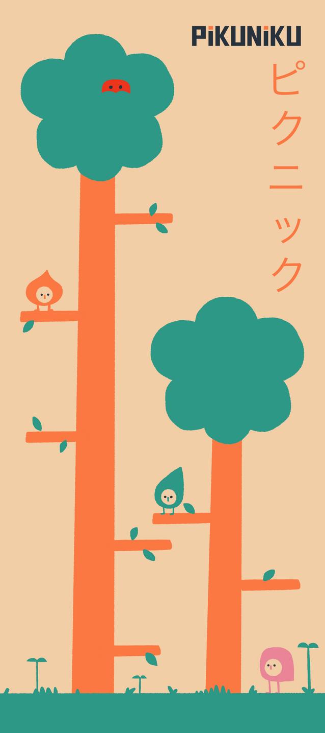 Pikuniku Fan Poster