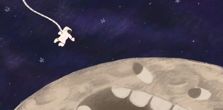 The Man who swallowed the Moon