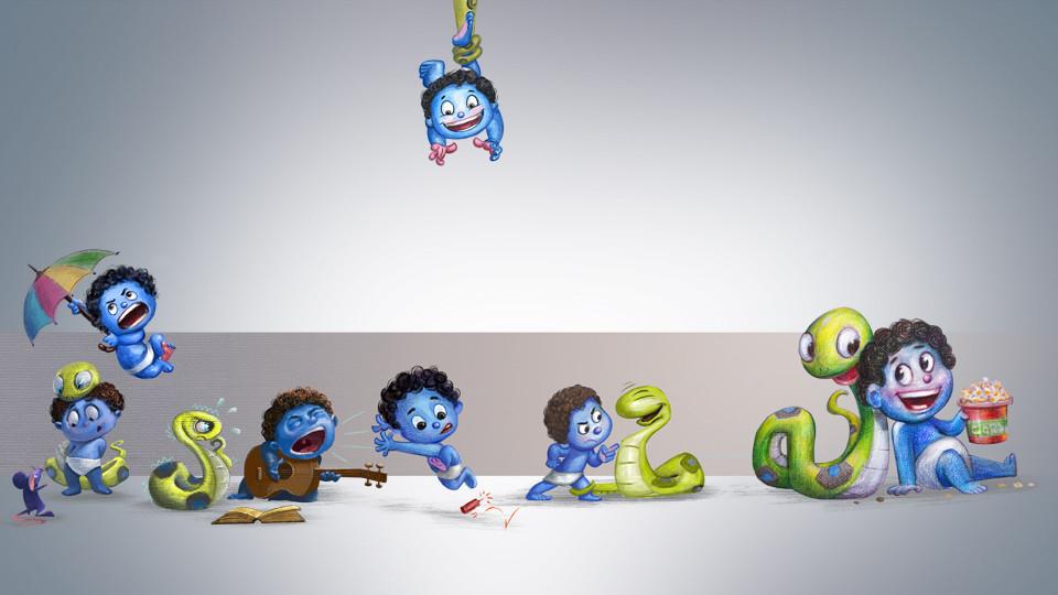 Tales, o Menino Azul