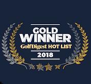 Golf Digest gold winner, golf ball, golf ball award, snell golf