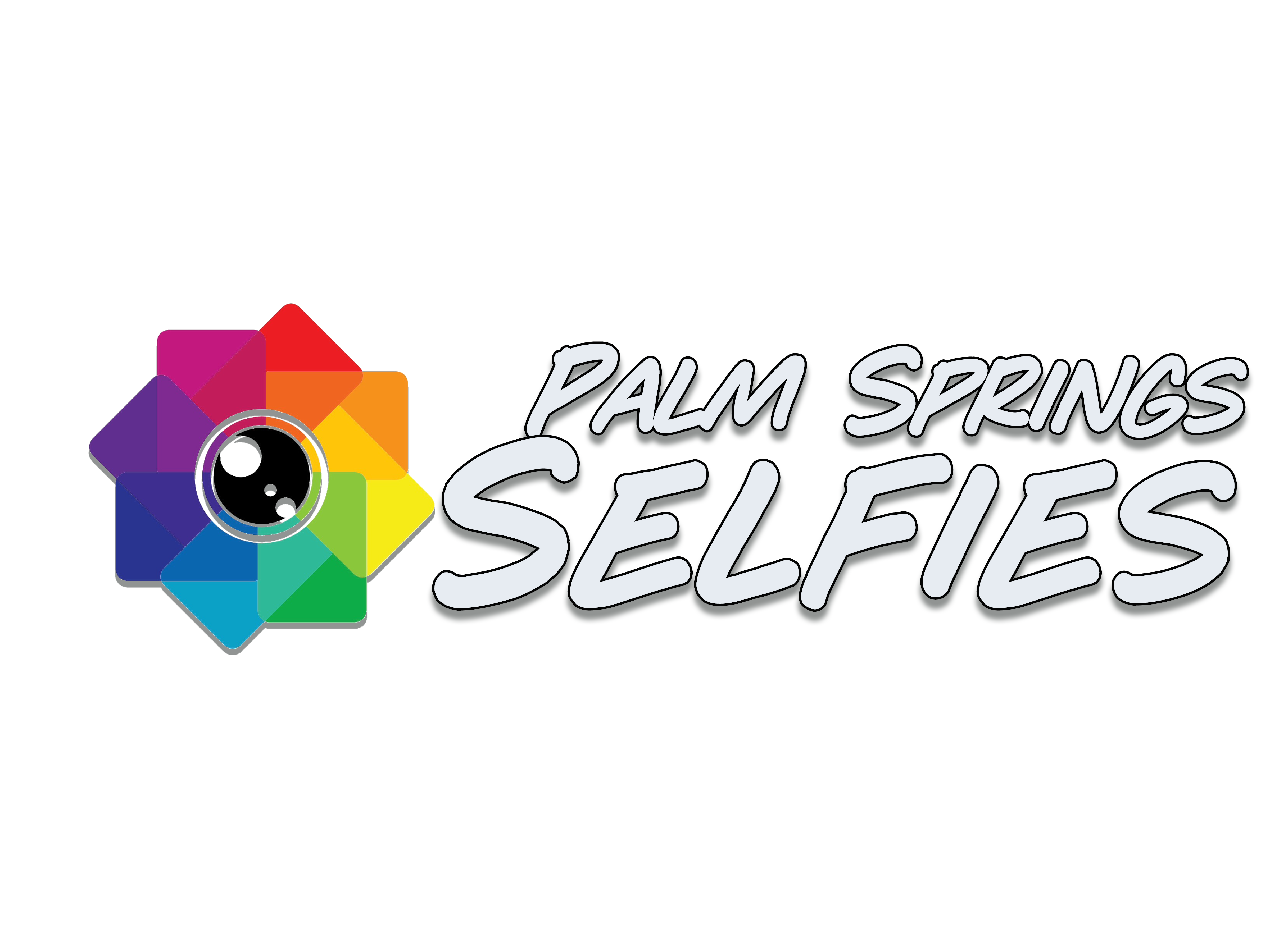 palm springs selfies logo
